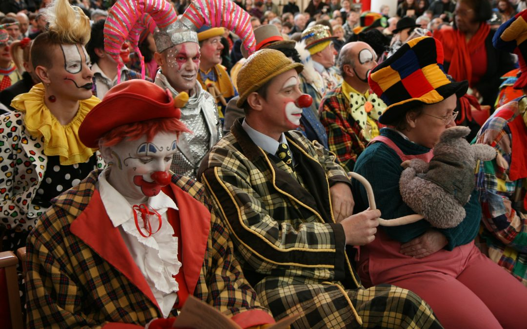 Annual Grimaldi Clown Service