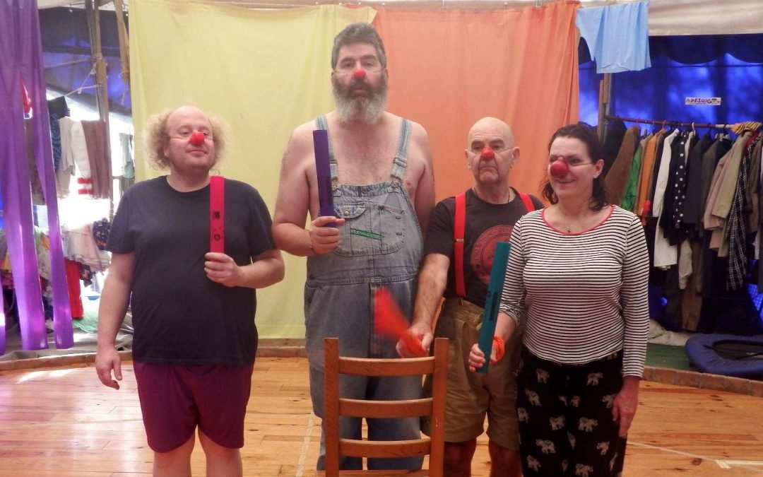 Devising for Clowns, Master-class in Glasgow